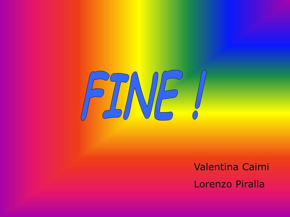 FINE ! Valentina Caimi Lorenzo Piralla