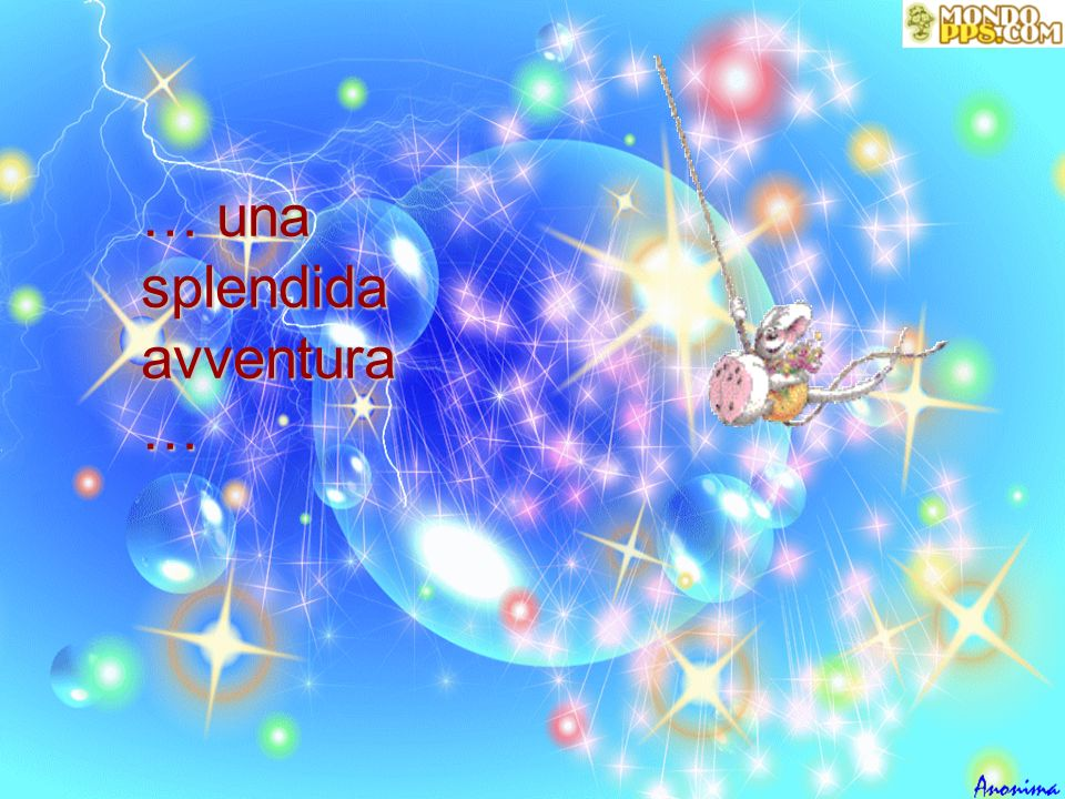 … una splendida avventura …