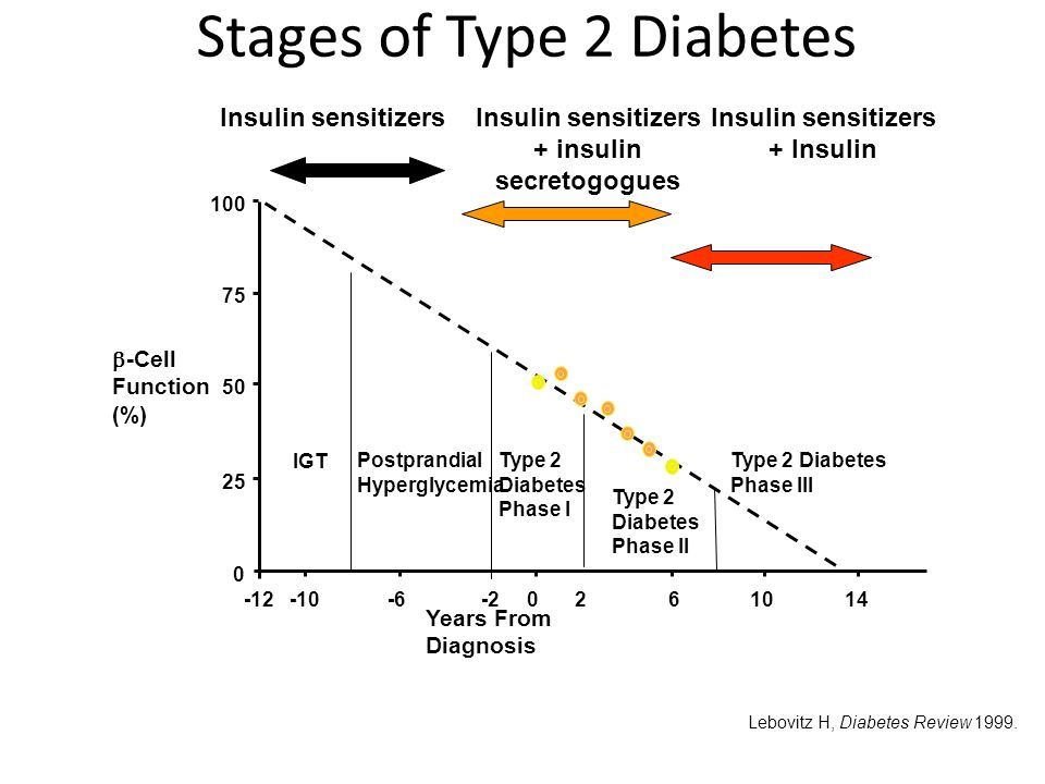 Stages of Type 2 Diabetes