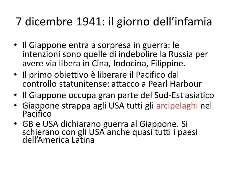 7 dicembre 1941: il giorno dell'infamia
