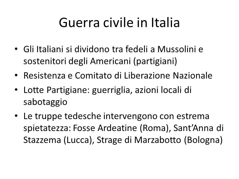 Guerra civile in Italia