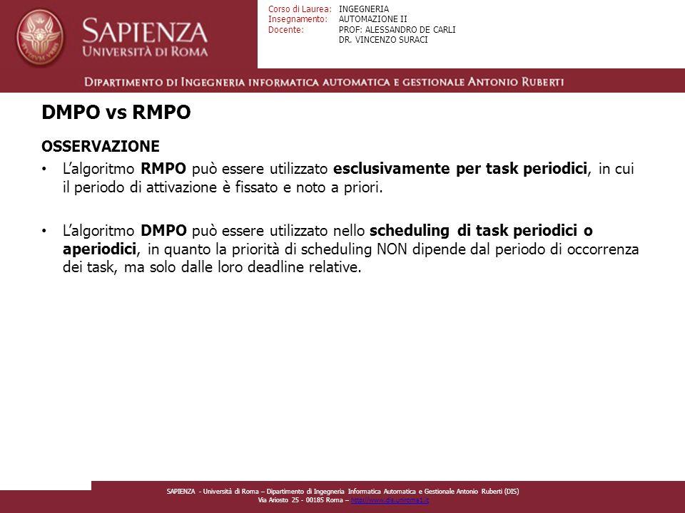 DMPO vs RMPO OSSERVAZIONE