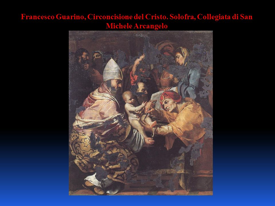 Francesco Guarino, Circoncisione del Cristo