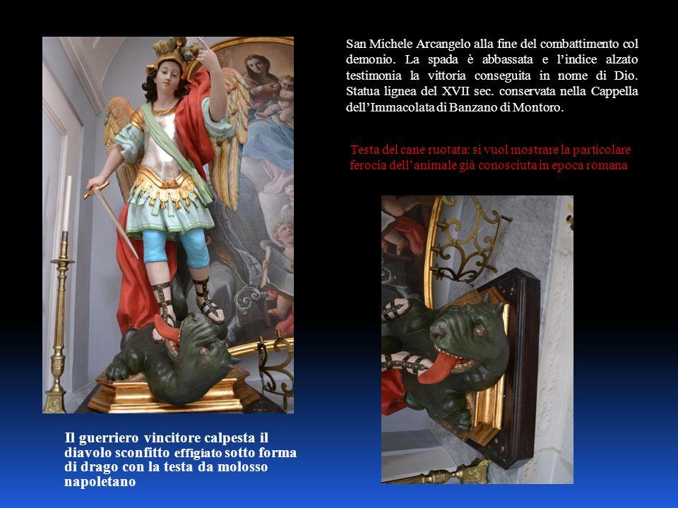 San Michele Arcangelo alla fine del combattimento col demonio