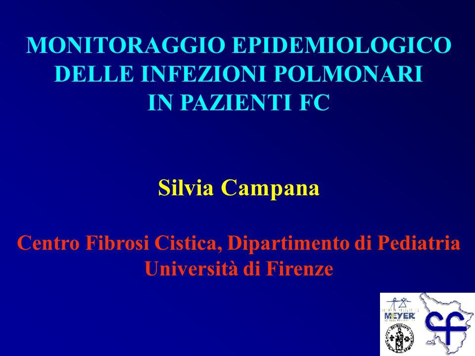 MONITORAGGIO EPIDEMIOLOGICO DELLE INFEZIONI POLMONARI IN PAZIENTI FC