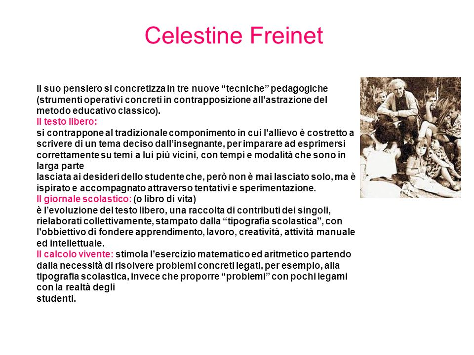 Celestine Freinet