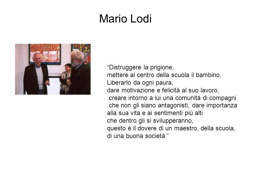 Mario Lodi Distruggere la prigione,