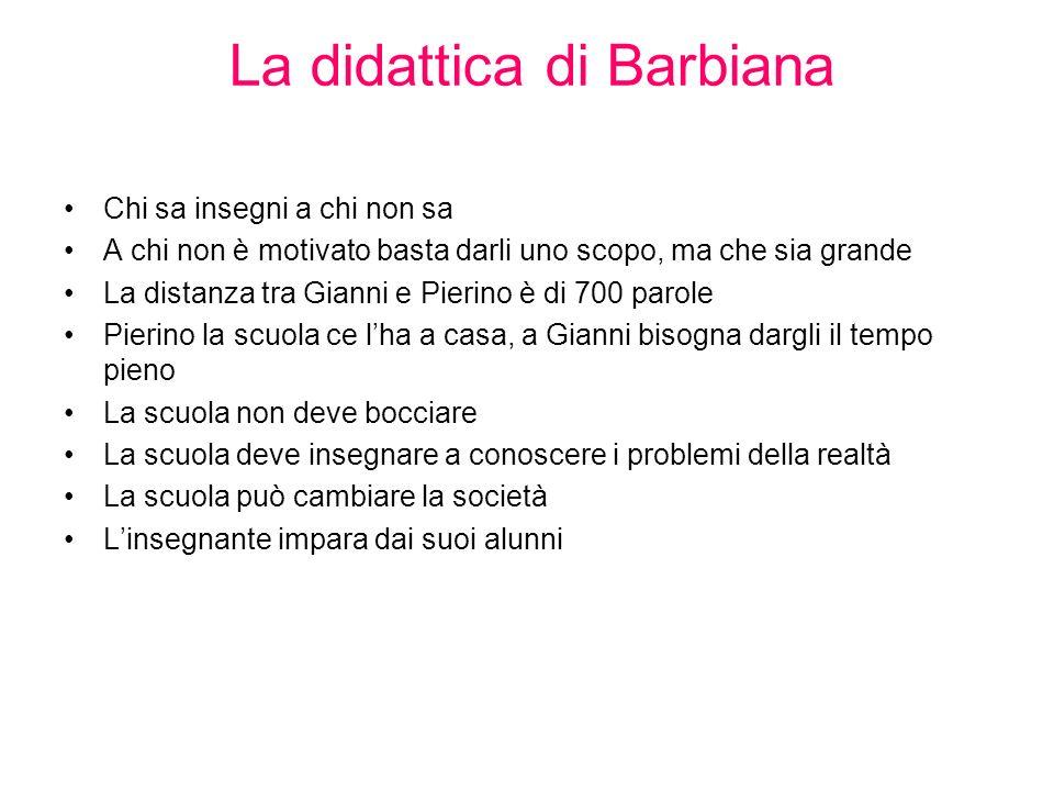 La didattica di Barbiana
