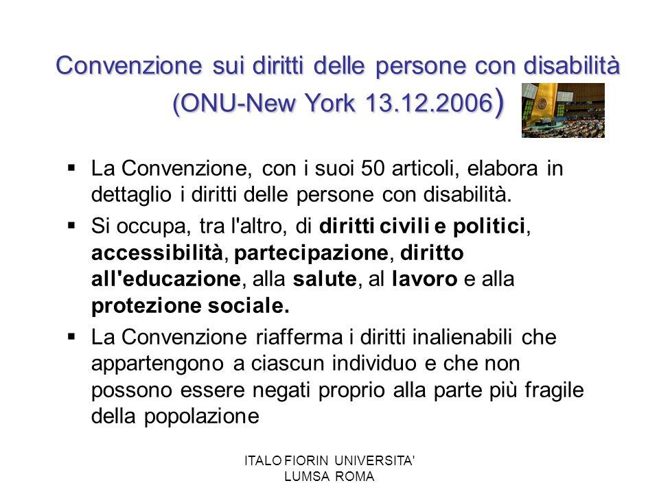 ITALO FIORIN UNIVERSITA LUMSA ROMA