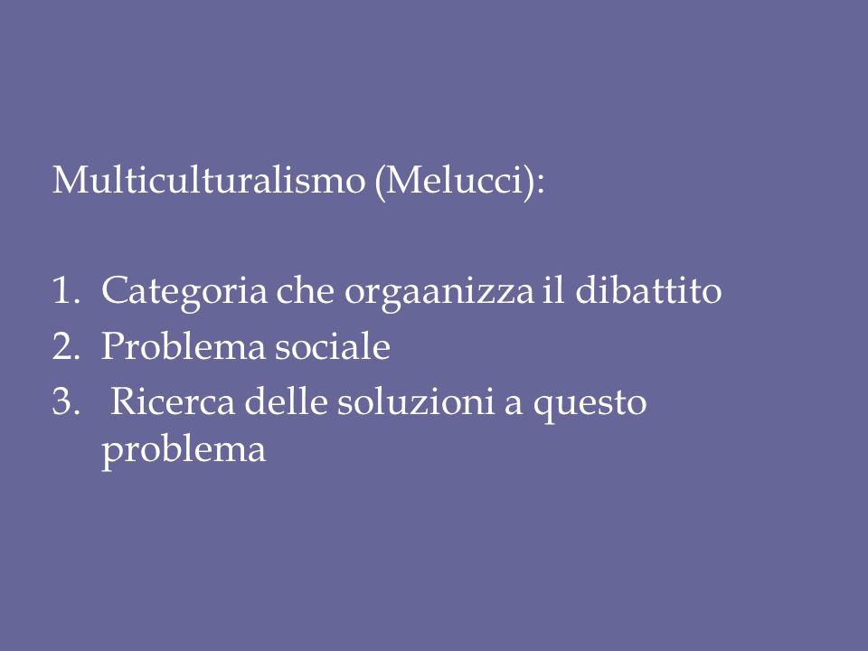 Multiculturalismo (Melucci):