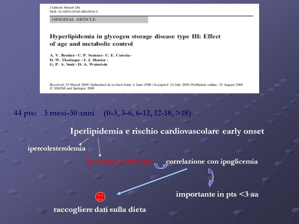 Iperlipidemia e rischio cardiovascolare early onset
