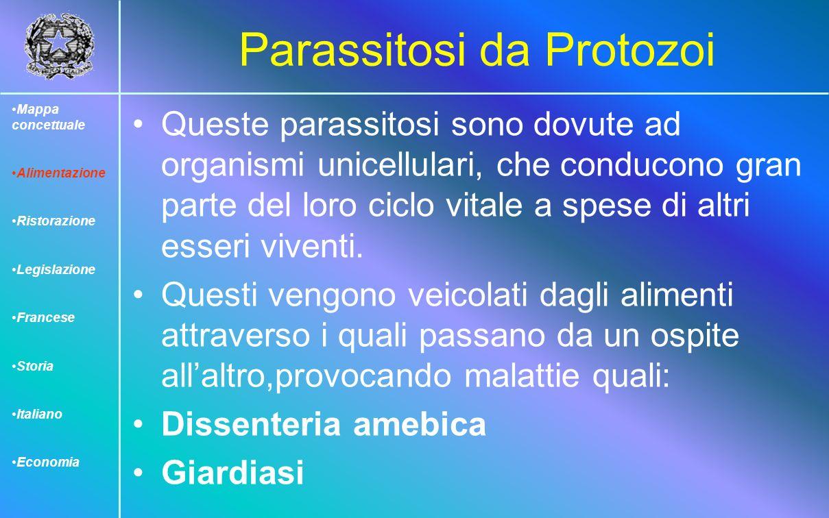 Parassitosi da Protozoi