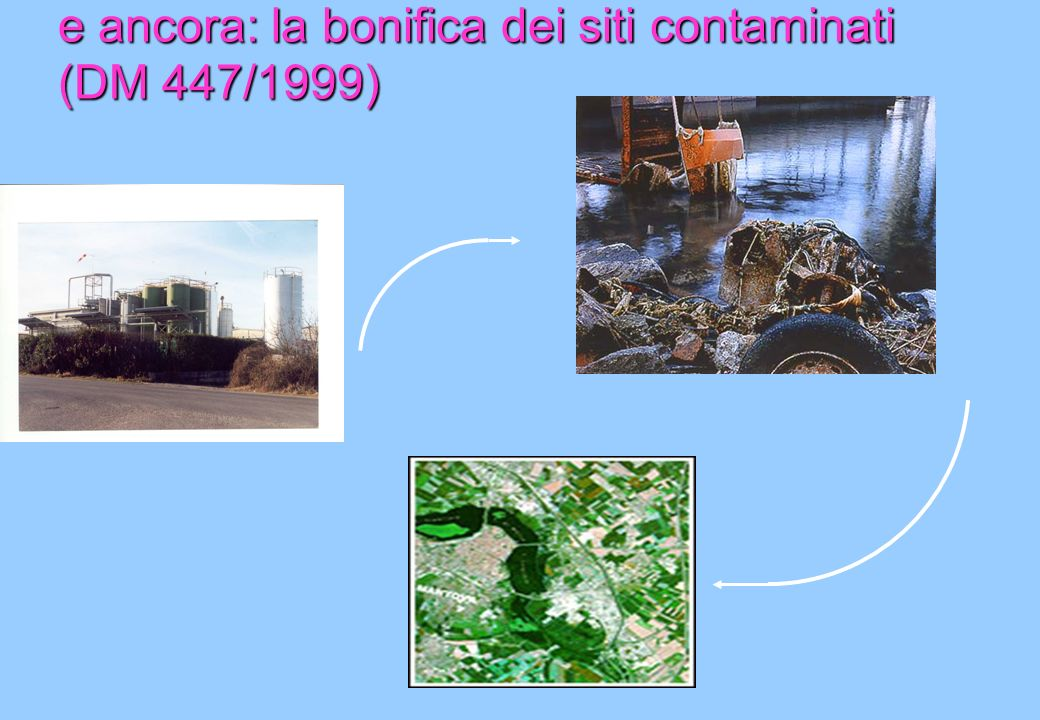 e ancora: la bonifica dei siti contaminati