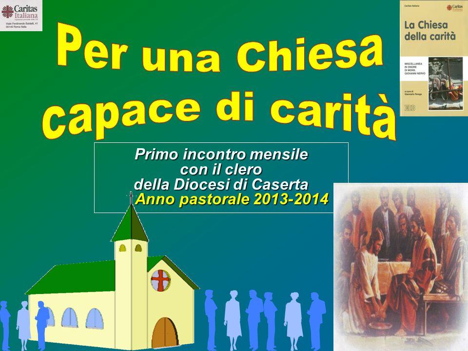 Primo incontro mensile della Diocesi di Caserta
