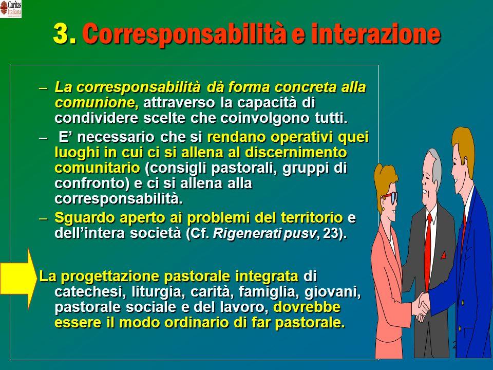 3. Corresponsabilità e interazione