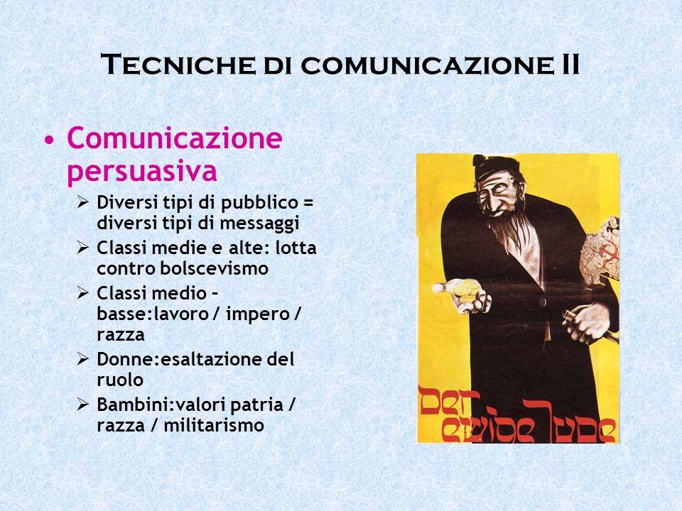 Tecniche di comunicazione II