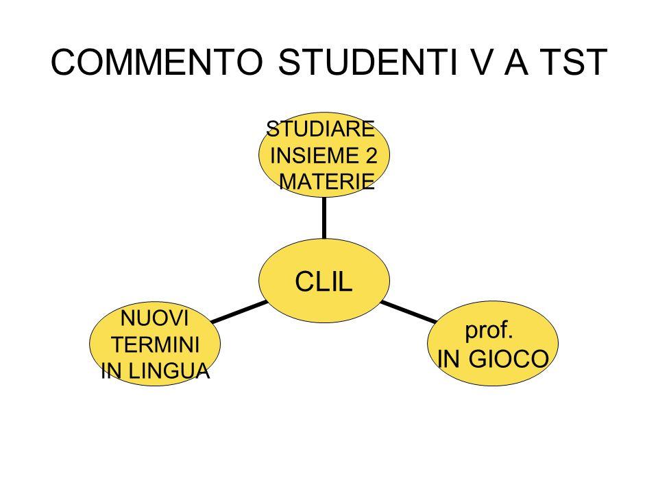 COMMENTO STUDENTI V A TST