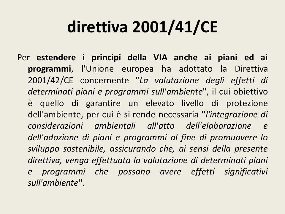 direttiva 2001/41/CE