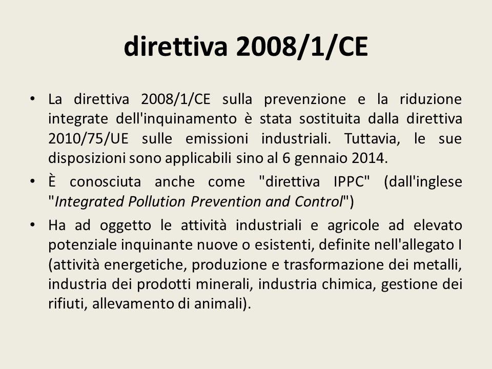 direttiva 2008/1/CE