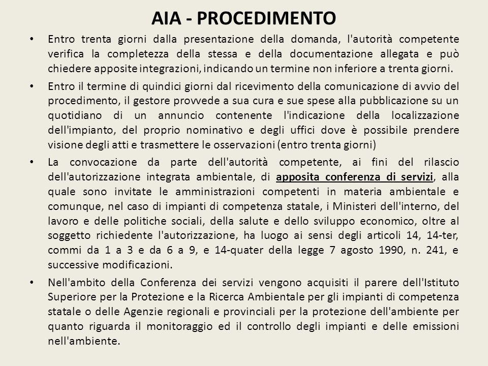 AIA - PROCEDIMENTO