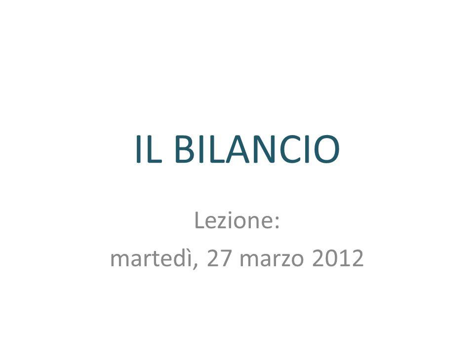 Lezione: martedì, 27 marzo 2012