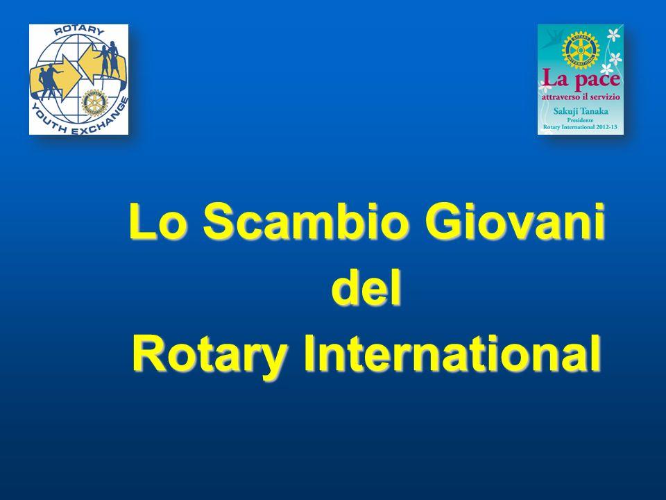Lo Scambio Giovani del Rotary International