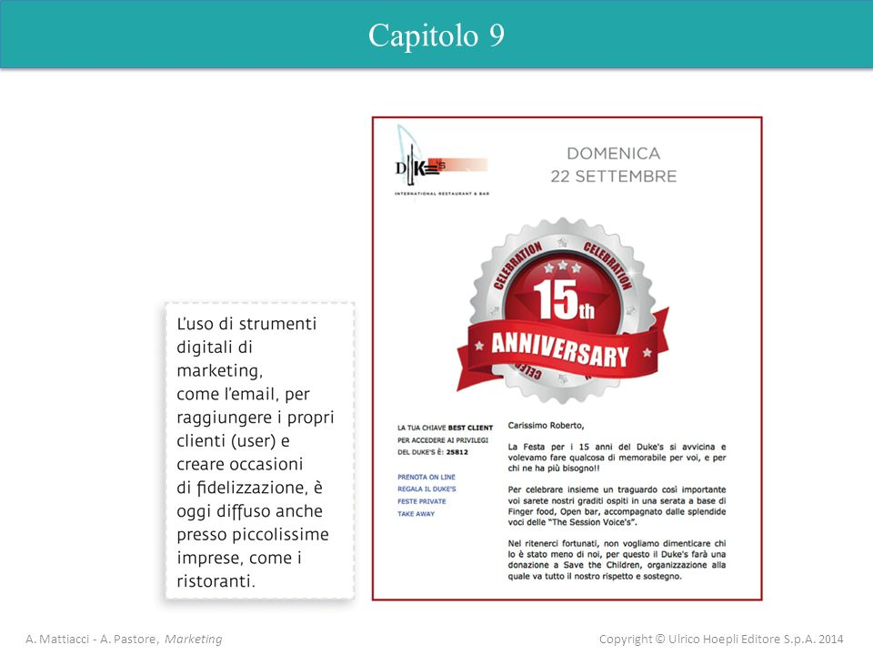 Capitolo 9 A. Mattiacci - A.