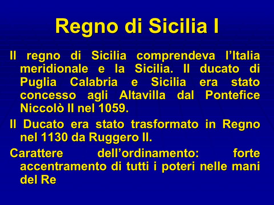 Regno di Sicilia I