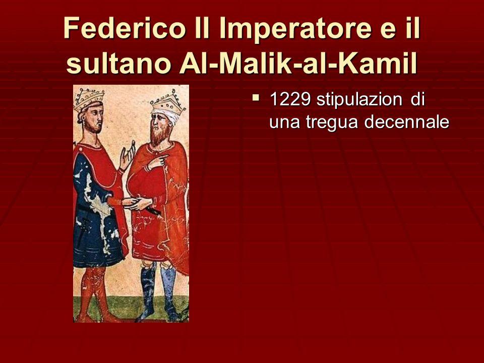 Federico II Imperatore e il sultano Al-Malik-al-Kamil