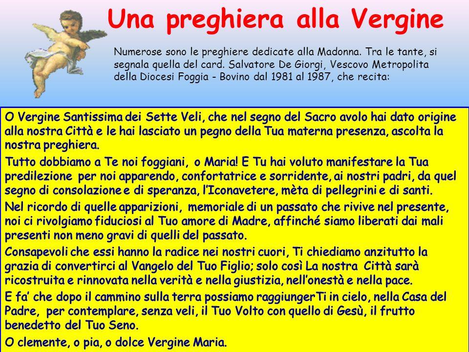 Una preghiera alla Vergine
