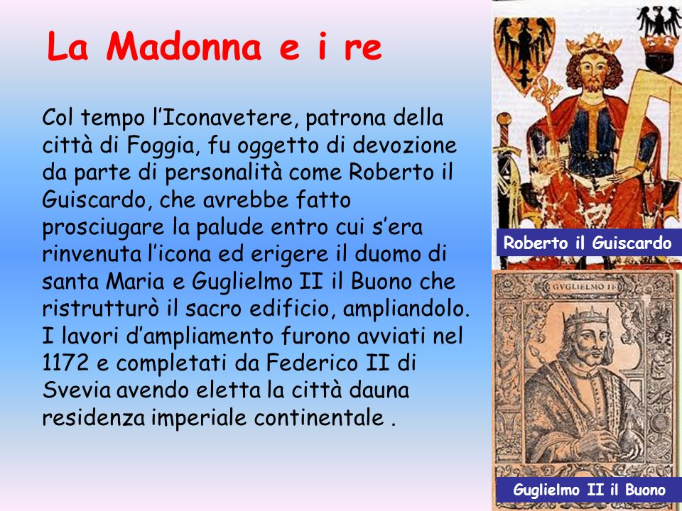 La Madonna e i re