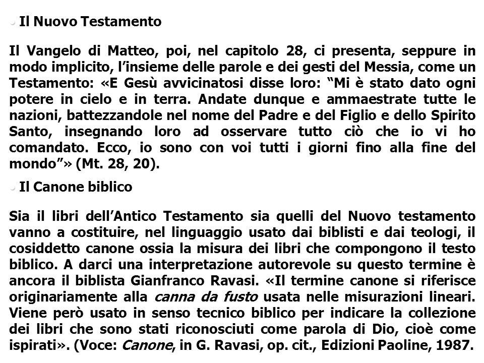 Il Nuovo Testamento