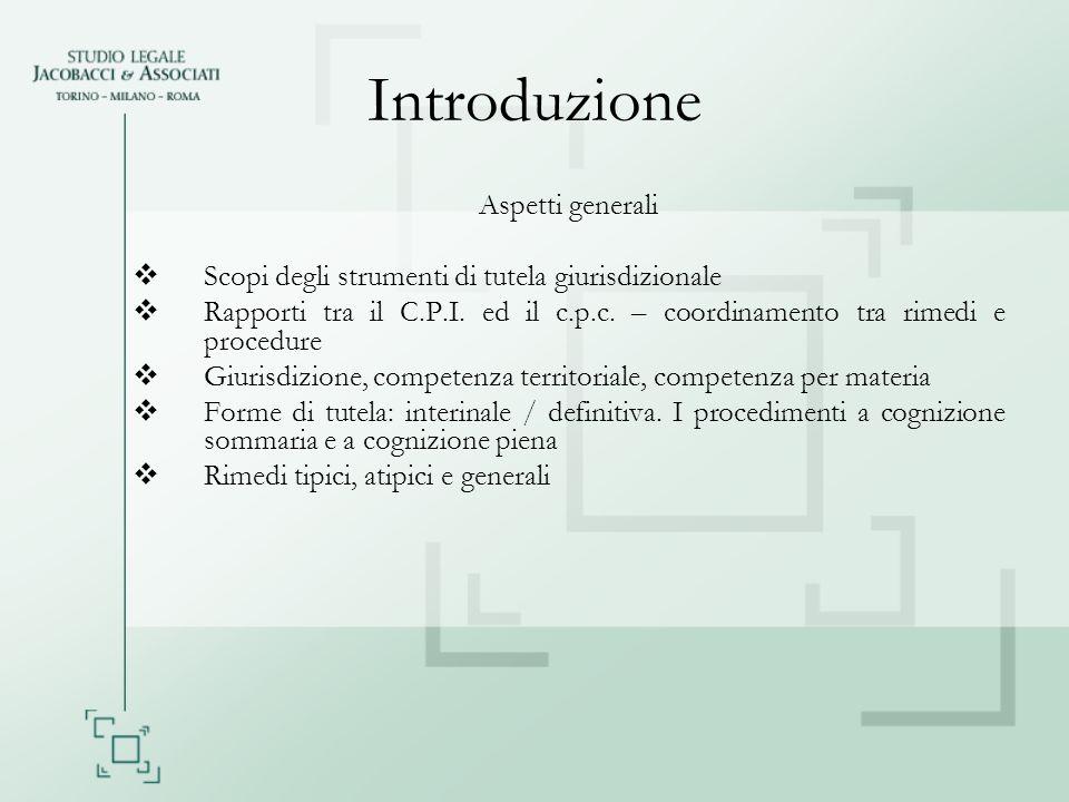 Introduzione Aspetti generali
