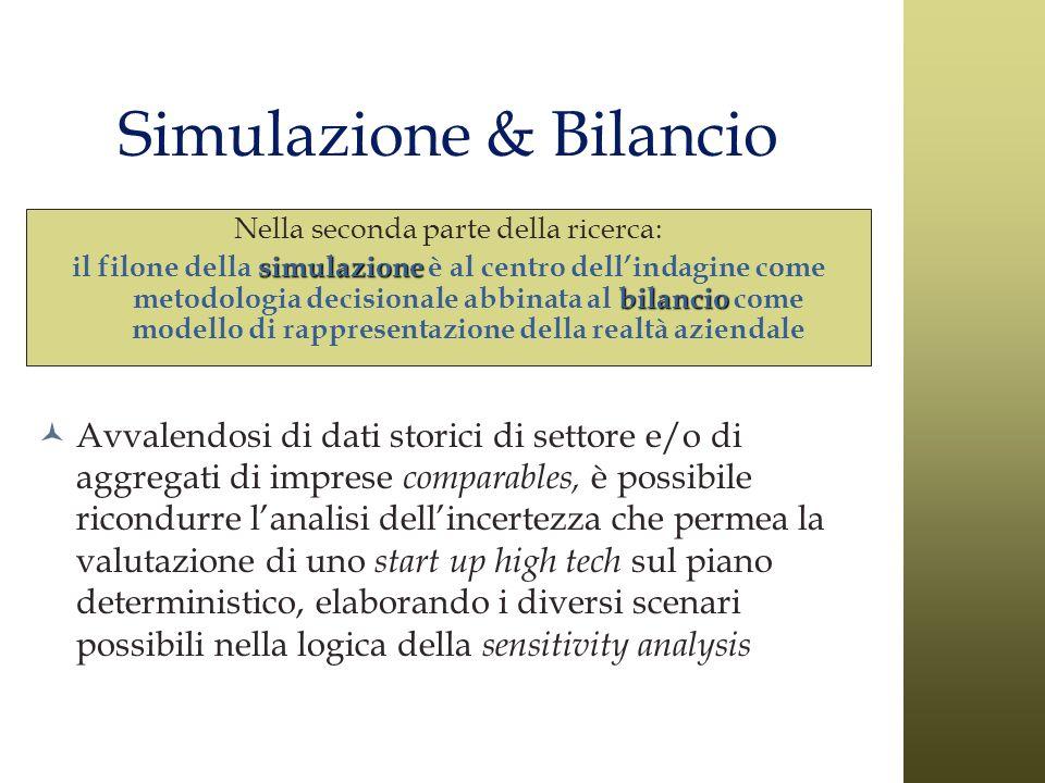Simulazione & Bilancio