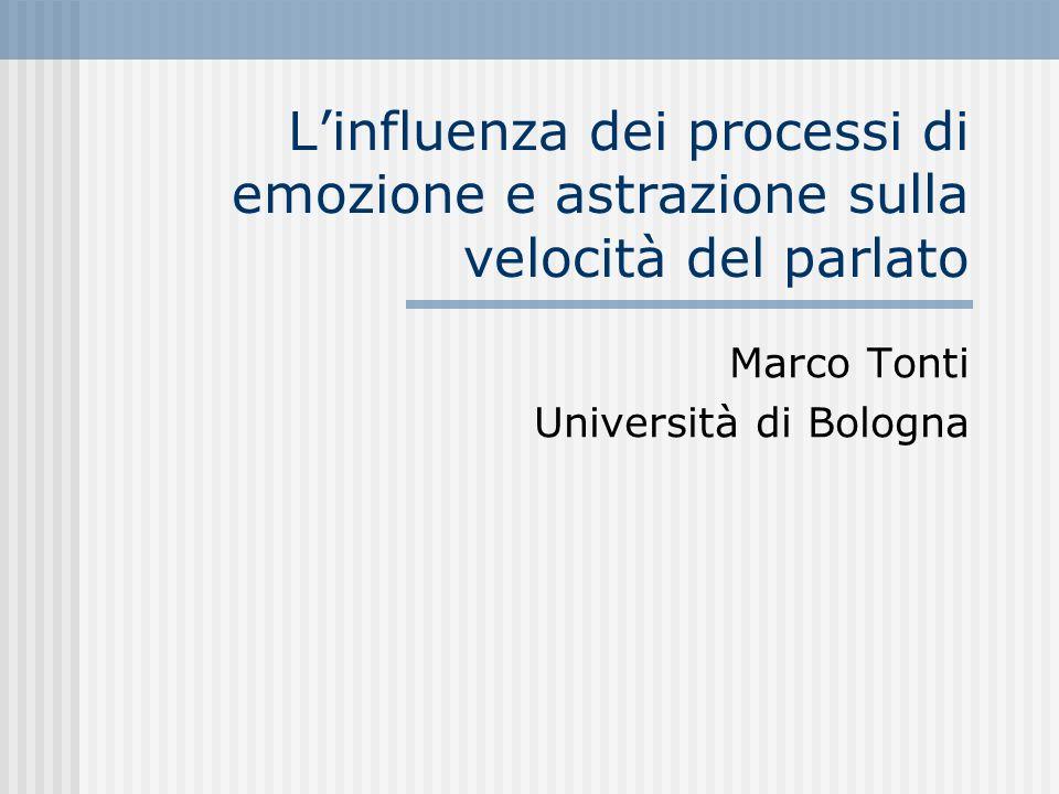 Marco Tonti Università di Bologna