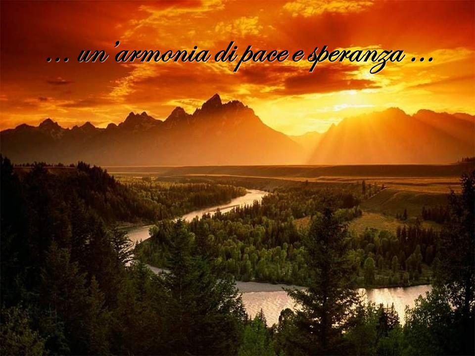 … un'armonia di pace e speranza …