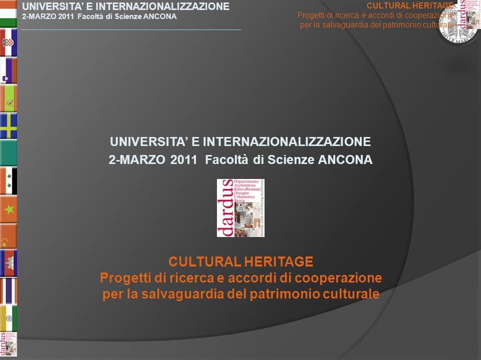 Progetti di ricerca e accordi di cooperazione