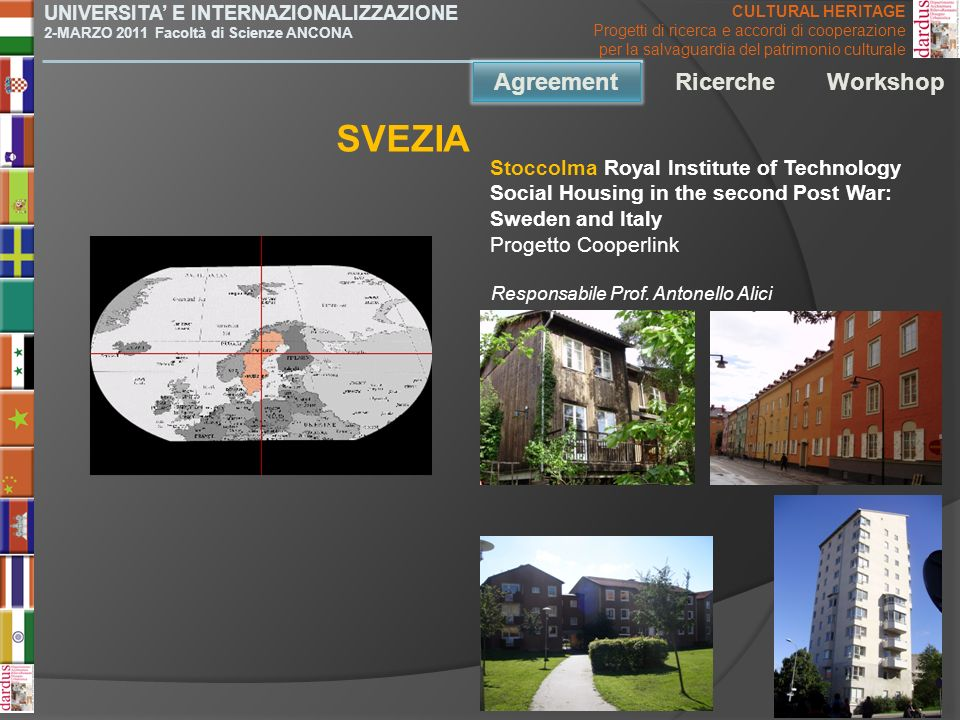 SVEZIA Agreement Agreement Ricerche Workshop