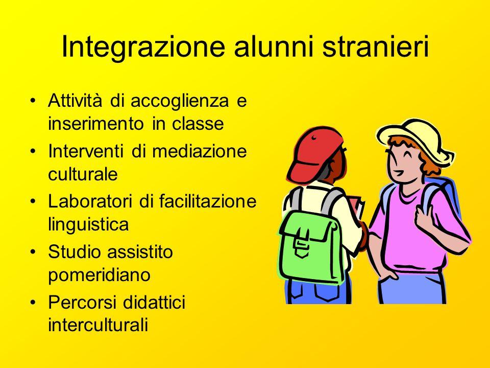 Integrazione alunni stranieri