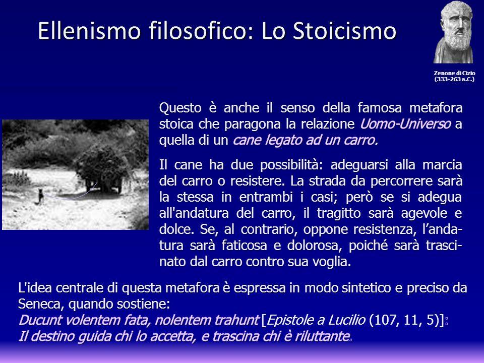 Ellenismo filosofico: Lo Stoicismo