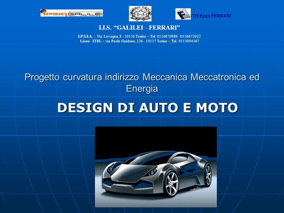 Progetto curvatura indirizzo Meccanica Meccatronica ed Energia