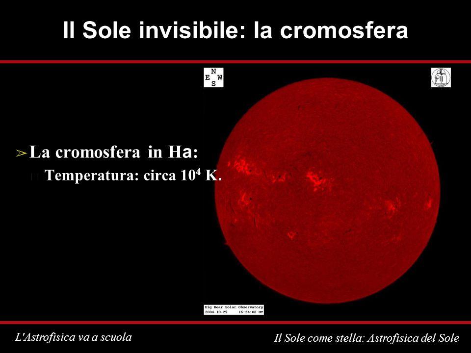Il Sole invisibile: la cromosfera