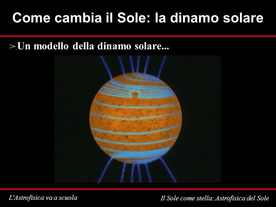 Come cambia il Sole: la dinamo solare