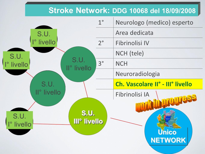 Stroke Network: DDG 10068 del 18/09/2008