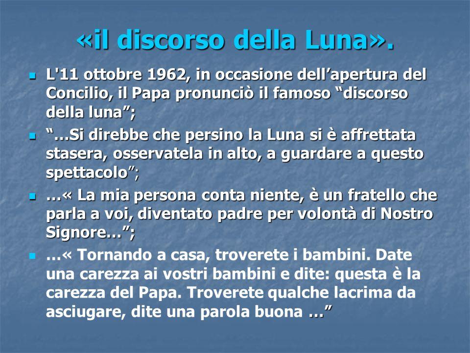 «il discorso della Luna».