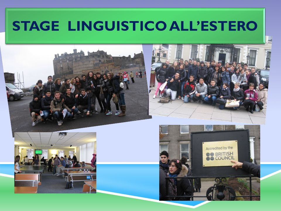stage linguistico all'estero