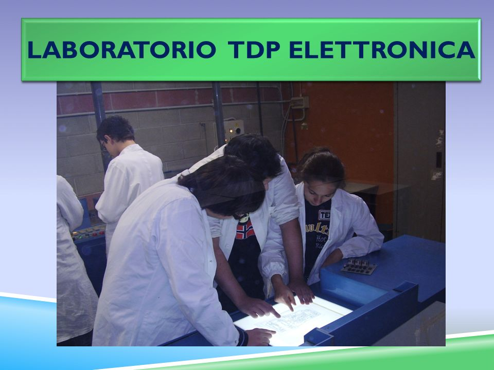 Laboratorio TDP ELETTRONICA