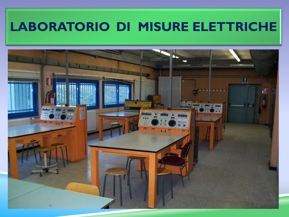 Laboratorio DI misure elettriche