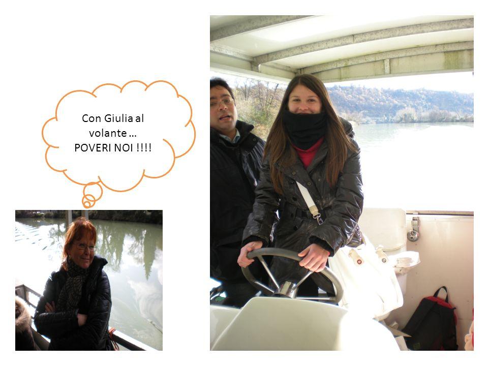 Con Giulia al volante … POVERI NOI !!!!
