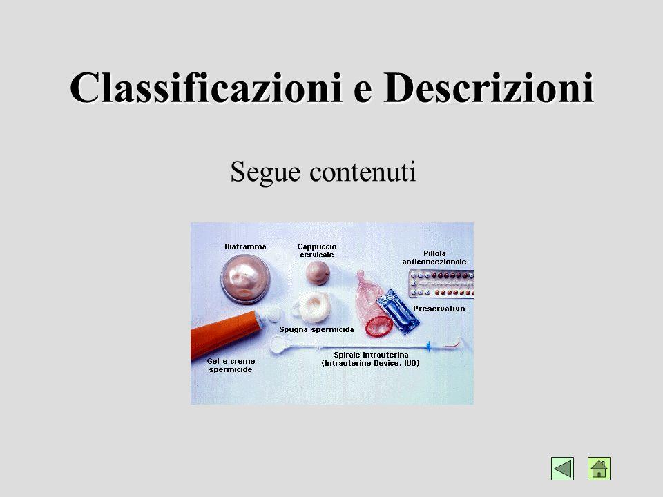 Classificazioni e Descrizioni